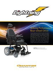 UK_Lightning Sell Sheet.pdf - Pride Mobility UK