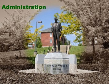 Copy of Administration - Kentucky State University