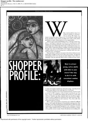 Shopper Profile The Condom User.pdf