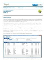 Muddy Boots Software Latest News October 2011
