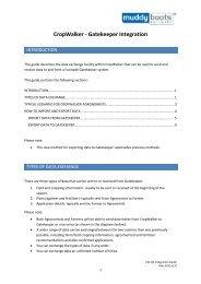 Gatekeeper Integration Guide (PDF - 880KB) - Muddy Boots Software
