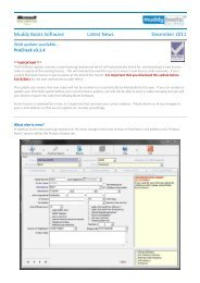 Muddy Boots Software Latest News December 2011