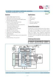 E910.87 1/17 Features General Description Applications Ordering ...
