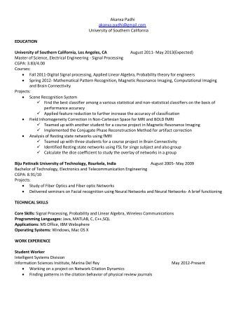 usc resume help 28 usc resume communications intern resume