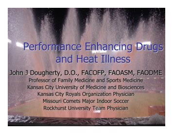 Heat Illness and PED's 2013.pptx - Kansas City University of ...