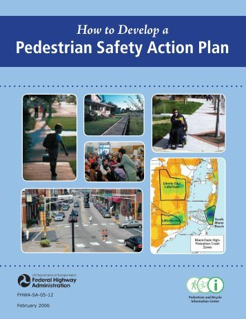 How to Develop a Pedestrian Safety Action Plan