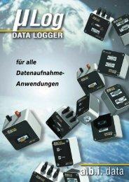 Logger und Zubehör - abi data Website