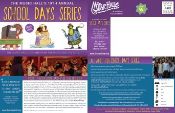 SDS Season Brochure (pdf) - The Music Hall