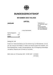 Az: VIII ZR 19/07 - Bund der Energieverbraucher e.V.
