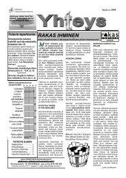 Seurakuntayhteys 09-9 - Helluntaiseurakunta Mikkeli
