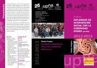 Presentación DIPLOMADO EN INTERVENCIÓN SOCIAL CON LA ...