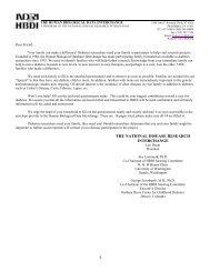 diabetes questionnaire - Children with Diabetes