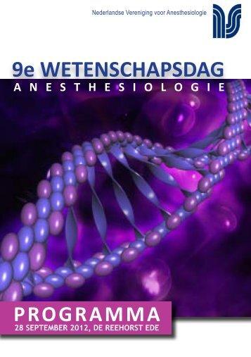programma - Nederlandse Vereniging voor Anesthesiologie