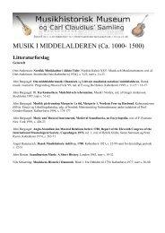 MUSIK I MIDDELALDEREN (Ca. 1000- 1500) - Duda