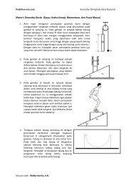 Materi: Dinamika Gerak (Gaya, Usaha-Energi, Momentum, dan ...