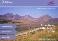 An enticing selection of offers - VisitScotland