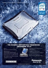 THE RUGGED CONVERTIBLE TOUGHBOOK ... - Computers!