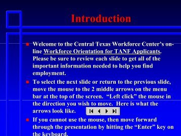 Introduction - Workforce Solutions of Central Texas