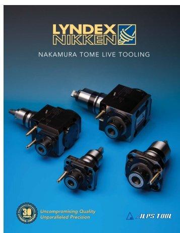 NAKAMURA TOME LIVE TOOLING - Lyndex-Nikken