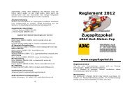 Reglement 2012 - Zugspitzpokal