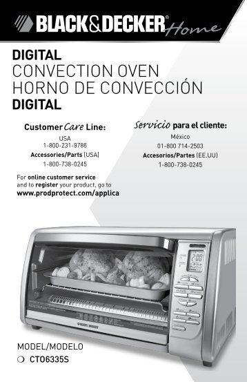 CONVECTION OVEN HORNO DE CONVECCIÓN - Amazon S3