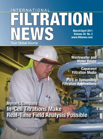 In-Cell Titrations Make Real-Time Field Analysis ... - Filtration News