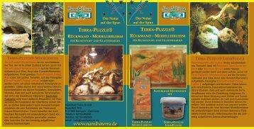 terra-puzzle® rückwand - Namiba Terra