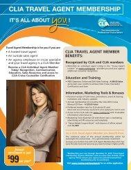 clia travel agent membership - Cruise Lines International Association