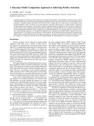 A Bayesian Model Comparison Approach to Inferring Positive ...
