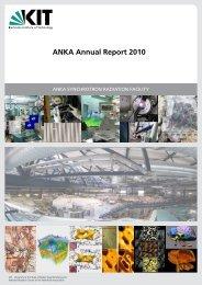 ANKA Annual Report 2010 - WiTec