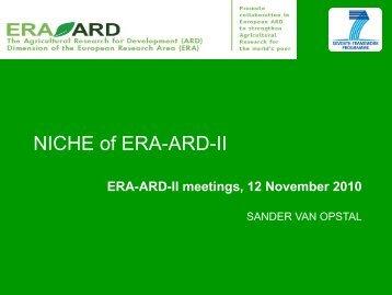 ERA-ARD niche (pdf)