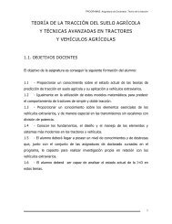 teoría de la tracción del suelo agrícola y técnicas avanzadas en ...