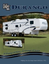 2008 Durango Brochure - Rvguidebook.com