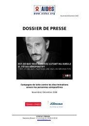 DOSSIER DE PRESSE - Sida Studi