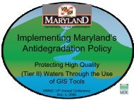 here - Maryland Department of Natural Resources Data