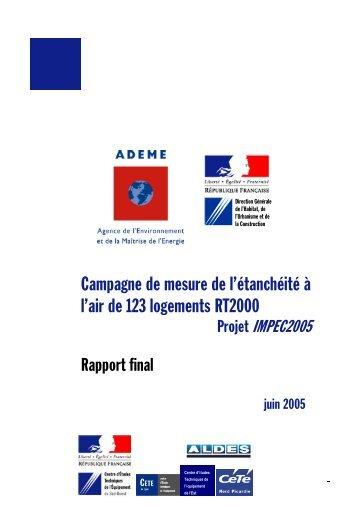 impec - Cellule Économique du Bâtiment et des Travaux Publics d ...