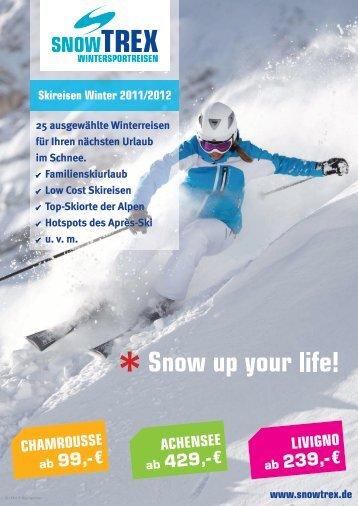 SnowTrex Katalog 2011
