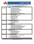 C# & ASP.NET DEVELOPER COURSE - Job Market Training LLC - Page 4