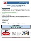 C# & ASP.NET DEVELOPER COURSE - Job Market Training LLC - Page 5