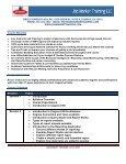 IBM COGNOS 8 BI COURSE - Job Market Training LLC - Page 2