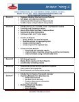 IBM COGNOS 8 BI COURSE - Job Market Training LLC - Page 3