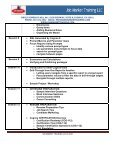 IBM COGNOS 8 BI COURSE - Job Market Training LLC - Page 4