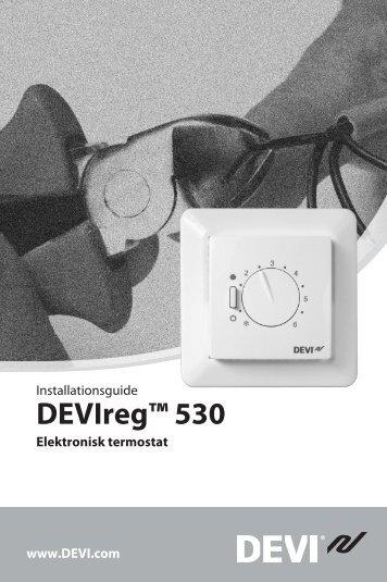 DEVIreg™ 530 - Danfoss.com