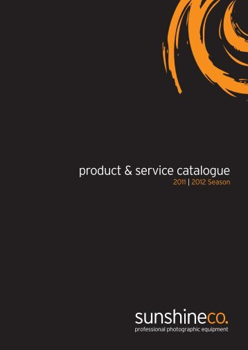 product & service catalogue - Sunshine Company