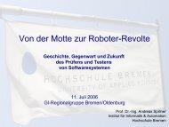 Von der Motte zur Roboterrevolte - Gesellschaft für Informatik ...