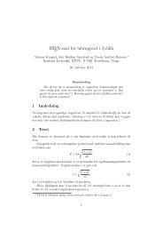 LATEX-mal for labrapport i fysikk - NTNU