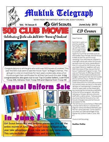 Mukluk Telegraph - Farthest North Girl Scout Council