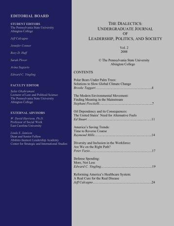 Vol. II - Penn State Abington