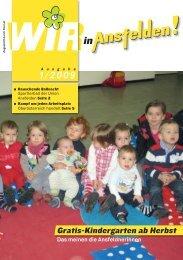 Gratis-Kindergarten ab Herbst - ÖVP Ansfelden
