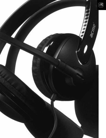 Computer accessories | Headphones | Headsets - TD Elektronika
